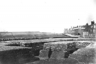 1870 Military trenches by Mill Road Gillingham