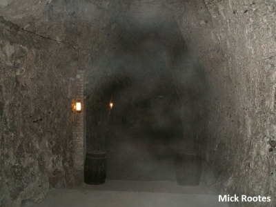 Mist in the tunnels