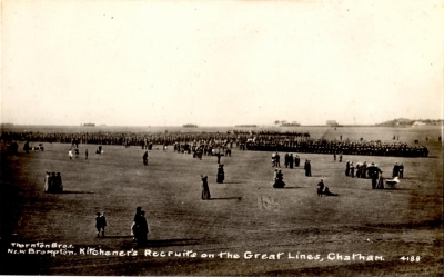 Kitchener's Recruits on the Great Lines