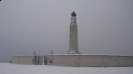 The Chatham Naval Memorial in Winter