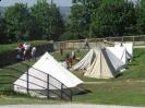 Re-enactors at Fort Amherst