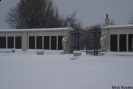Chatham Naval Memorial in Winter