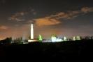 Chatham Naval Memorial At Night