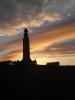 The Chatham Naval Memorial At Night